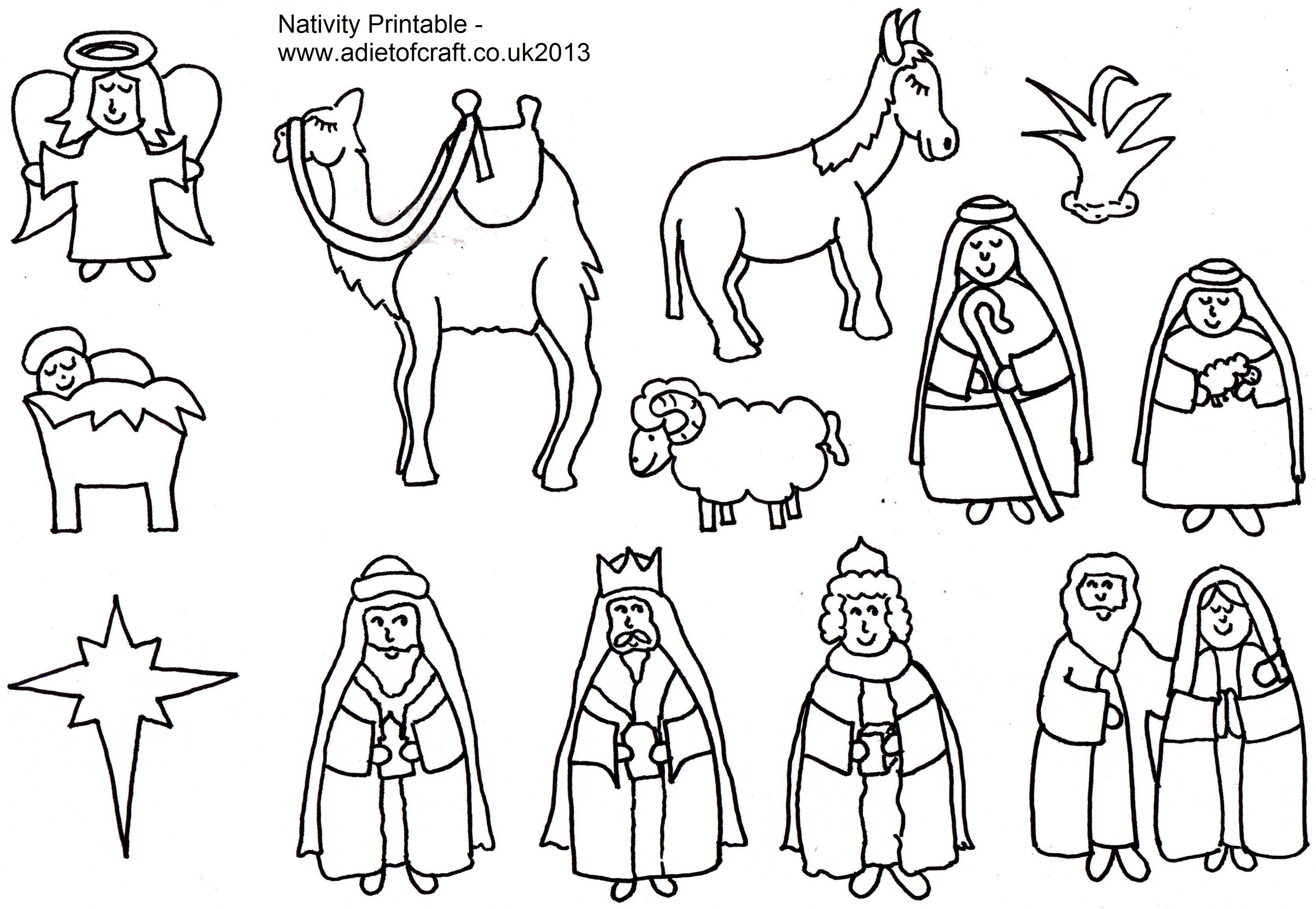 nativity shepherds colNativity Coloring Pages Shepherds
